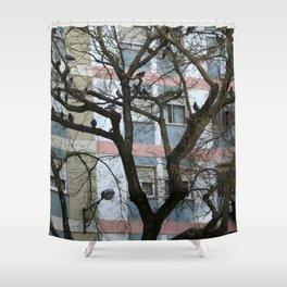 Urban Condos Shower Curtain