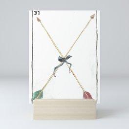 Loteria arrows Mini Art Print