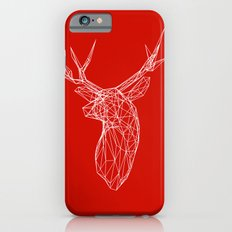 3D Stag Trophey Head Wire Frame iPhone 6s Slim Case