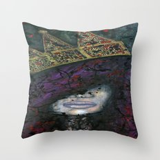 Q.U.E.E.N Throw Pillow