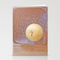 asian Stationery Cards featuring Asian Pear by Lyssia Merrifield