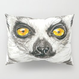 Lemur Pillow Sham