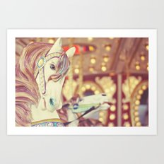 Kid at heart Art Print