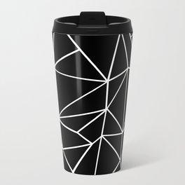 Abstract Heart Metal Travel Mug