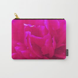 Rose close up bright pink Carry-All Pouch