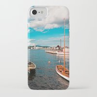 oslo iPhone & iPod Cases featuring Oslo Boats by Léon