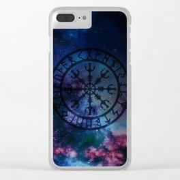 Viking Aegishjalmur - new version Clear iPhone Case