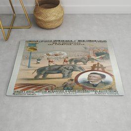 Vintage poster - The Champion Leaper Rug