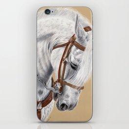 Horse Portrait 01 iPhone Skin