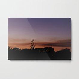 Sunset In Portugal Metal Print