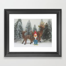 holiday Framed Art Print