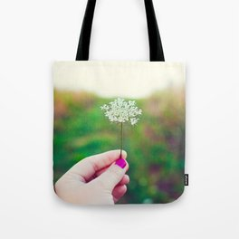 Hold My Flower Tote Bag