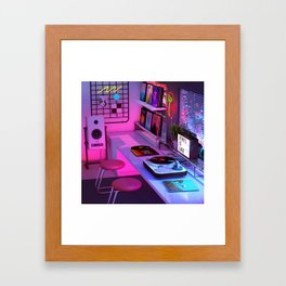 Vinyl is Life Framed Art Print