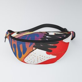 Psychedelic Sneakers Fanny Pack