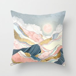 Spring Morning Throw Pillow