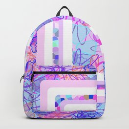 Boxed Flowers Backpack
