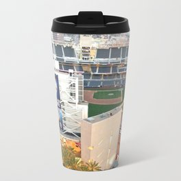 San Diego Padres Stadium - A view from above Metal Travel Mug