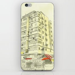 I Love Hong Kong iPhone Skin
