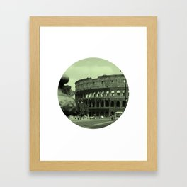 Colosseum #2 Framed Art Print