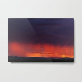 Sierra Blanca Sunset II Metal Print
