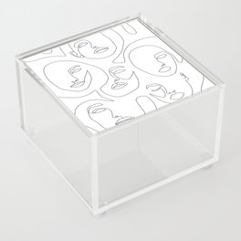 Her and Her Acrylic Box