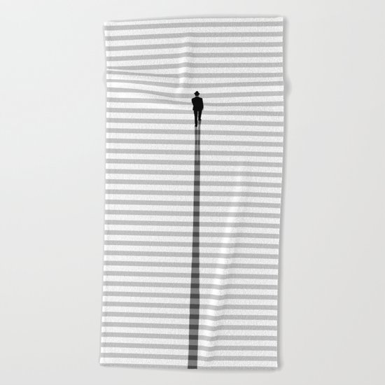 Up The Stair Beach Towel