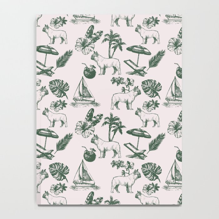 Tropical Dogs Notebook
