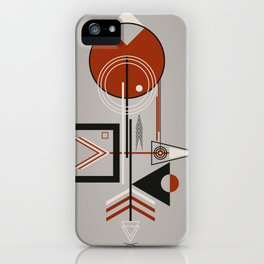 The bird and the fish at sunset iPhone Case