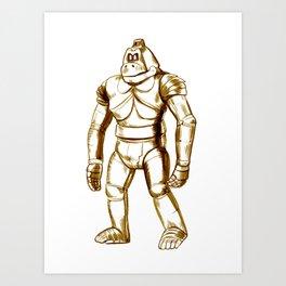 Mecha Kong Art Print