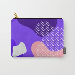 Purple abstract pattern Carry-All Pouch