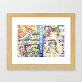 Planetary Magick Framed Art Print