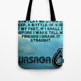 Wasaga6 Poster Tote Bag