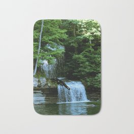 Over By the Waterfall Bath Mat