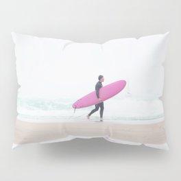 surfing beach vibes Pillow Sham