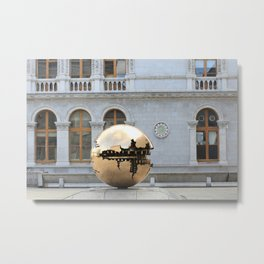 Sphere Within Sphere Metal Print