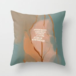 You Are Beautiful. Throw Pillow