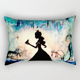 Enchanted love Rectangular Pillow