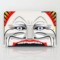 melbourne iPad Cases featuring Melbourne (Full Face Version) by George Williams