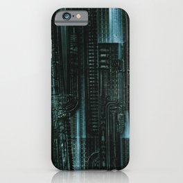 HR Giger Textures iPhone Case