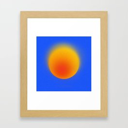 Orb I Framed Art Print