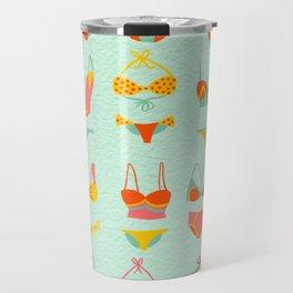 Bikini Collection on Mint Travel Mug