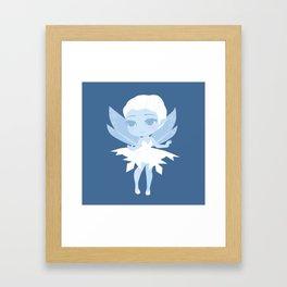 Snowflake Fairy Framed Art Print