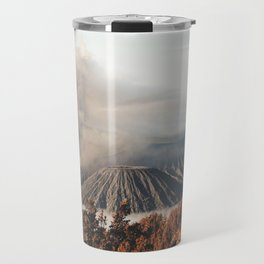 Volcano landscape Travel Mug