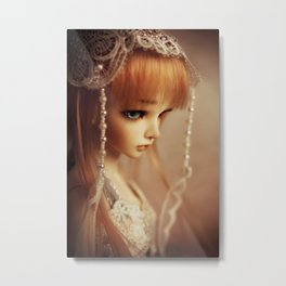 Timeless Beauty Metal Print