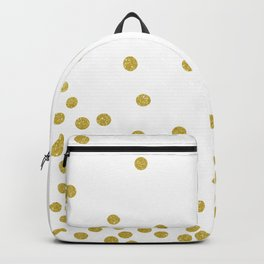 Golden Confetti Backpack