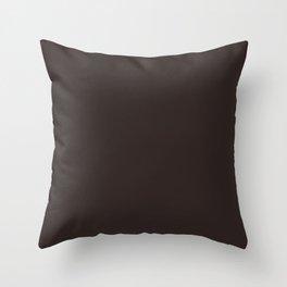 Asymmetrical Glow ~ Brown Taupe Throw Pillow
