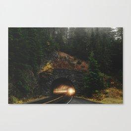 Rainier Tunnel Canvas Print