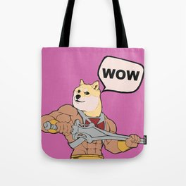 Much POWER! Tote Bag