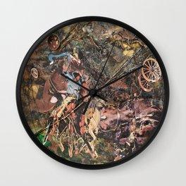 Wrangler Wall Clock