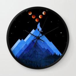 Festival of Moon Wall Clock